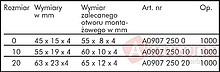 "Lamelka Rozmiar ""0"" 45x15mm Bukowy A0907 Wurth Op=1000szt - Würth"