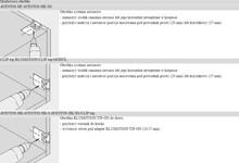 Pomoce montażowe Wzornik Wiertarski 65.5300 Do Prowadników i Adapterów Blum - Blum