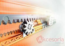 Kryta prowadnica wałkowa MOVENTO 766H firmy Blum do szuflad drewnianych. Z HAMULCEM Nowy system prowadnic firmy Blum zaprojektowany z myślą o często...