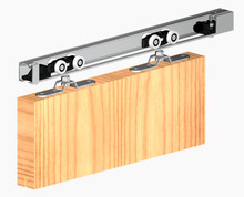 Prowadnice do drzwi Zestaw HERKULES HS120 Do 1szt Drzwi Przejściowych dł.240cm 120kg - Valcomp