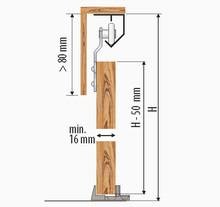 Zestaw Saturn ST24 Do 1 szt. Drzwi Przejściowych dł.240 cm 45 kg - Valcomp