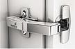 """Zawias automatyczny z techniką montażu na prowadnik typu """"clip"""", ze zintegrowanym cichym domykaniem Klasyfikacja jakości zgodnie z EN 15570,..."""