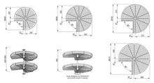 Półka Obrotowa NOVA 3/4 fi 750 Efekt Chrom - Rejs