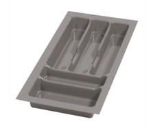 PRO wkład do szuflady 30 wykonany z trwałego i estetycznego tworzywa w kolorze metalicznym o gładkiej fakturze. Pozwala optymalnie wykorzystać przestrzeń...