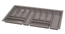 PRO wkład do szuflady 90 wykonany z trwałego i estetycznego tworzywa w kolorze metalicznym o gładkiej fakturze. Pozwala optymalnie wykorzystać przestrzeń...