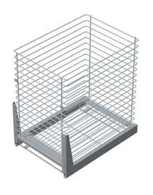 VARIANT PLUS Cargo mini dolne jednopoziomowe 50 metal lakier biały  Do szafki o szerokości 50 cm / głębokości 50 cm. * prowadnice kulkowe REJS z...
