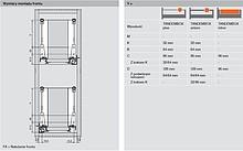 Cargo MINI Antaro 2-poziomowe Do Korpusu 20cm gł.50cm BIAŁE Blum - Blum