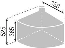 Kosz Eko Center1 1 x 18l do korpusu 40cm - Würth