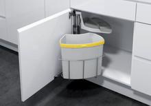 Kosz do sortowania odpadów Eko Center  Pojemność 1 x 18l Do korpusu o szerokości 40cm  Szerokość 350 mm Wysokość 525 mm Głębokość 350 mm  *...
