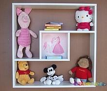 Meble dziecięce wyprodukowane są z największą starannością i dbałością o wszystkie szczegółu. Półka zrobiona jest z białej wysokogatunkowej...