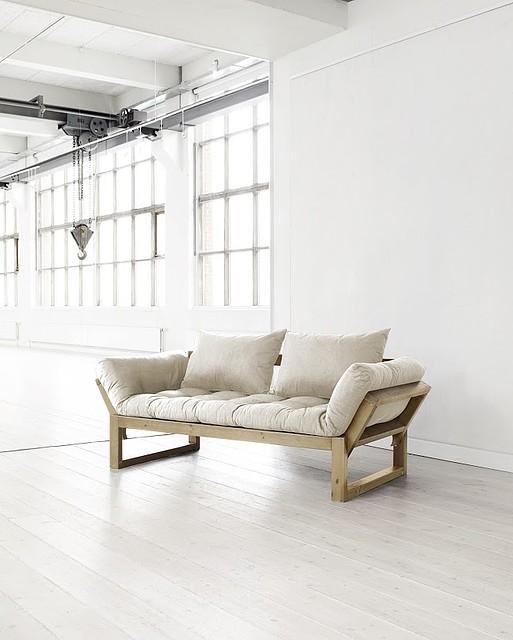 Edge Sofa Rozkładana Z Materacem Futon I Poduszkami Startstop