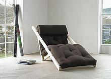 Dekoracyjne i funkcjonalne łóżko z materacem futon w zestawie. Może służyć jako fotel relaksacyjny, telewizyjny lub nawet ogrodowy. Łatwo i szybko...