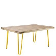 Stolik kawowy 07 - żółty