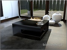 Stolik kawowy Sofia to nietuzinkowy element wystroju do salonu. Mebel z biokominkiem to praktyczny i elegancki dodatek w mieszkaniu, który umożliwia...