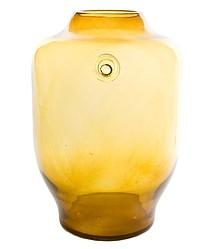 Oryginalne naczynie szklane, które doskonale sprawdzi się również jako wazon w kolorze miodowym.  Duża, prosta forma.  Ręcznie wykonane, przez...