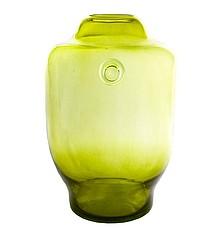 Oryginalne naczynie szklane, które doskonale sprawdzi się również jako wazon w kolorze oliwkowym.  Duża, prosta forma.  Ręcznie wykonane,...