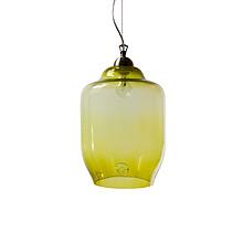 Szkło ręcznie formowane: kolor oliwkowy. Znakowana logiem Gie El. W zestawie zawiesie: kolor chrom. E27, max 60W Nie wiesz, jak zdefiniować charakter...