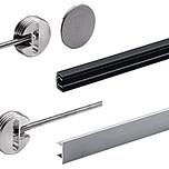 Okucie przeznaczone do naprężenia wygiętych drzwi meblowych Możliwość stosowania zapobiegawczo przeciw wyginaniu się drzw Do drzwi / frontu o grubości...