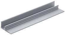 Do przykręcania Długość 2000 mm Aluminium anodowane, kolor srebrny Rodzaj montażu - do przykręcania Wykończenie powierzchni - anodowane Materiał -...