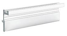 Do wieńca górnego o grubości 19 mm Do przykręcania Długość 2400 mm Aluminium anodowane, kolor czarny / lakierowane proszkowo, kolor biały Numer...