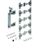 Zestaw do drzwi przesuwnych WingLine 230 z mocowaniem po lewej stronie  Zestaw zawiera wszystkie niezbędne elementy do 1 drzwi składanych 2-skrzydłowych...