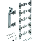 Zestaw do drzwi przesuwnych WingLine 230 z mocowaniem po prawej stronie  Zestaw zawiera wszystkie niezbędne elementy do 1 drzwi składanych 2-skrzydłowych...