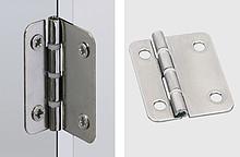Zawias do drzwi tępo wpuszczanych i drzwi składanych dobre parametry pracy dzięki nieścieralnym pierścieniom z łożyskami ze stali walcowanej z...