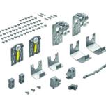 Zestaw jezdny TopLine M, szafa 2-drzwiowa z prowadzeniem dolnym przed wieńcem STB 16.1  Cechy produktu:  Drzwi otwierane z nałożeniem przy zastosowaniu...