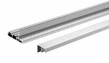 TopLine L - Zestaw Profili o długości 3000 mm. w kolorze aluminium do systemu drzwi przesuwnych TopLone L Z STB 11 montaż na wieńcu górnym.  ...