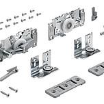 Zestaw Top Line L uzupełniający do szafy 3-drzwiowej  Ciężar drzwi na jedno skrzydło (max) - 50 Rodzaj artykułu - zestaw uzupełniający do szafy...