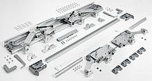 InLine XL System Przesuwny Do Szafy 2-Drzwiowej 1500-1599 - Hettich