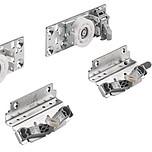 TopLine XL zestaw jezdny do drzwi tylnych lewych  Zawiera elementy jezdne i prowadzące do drzwi tylnych Elementy jezdne ze zintegrowaną regulacją...
