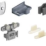 Do drzwi o grubości 16 i 19 mm Możliwość łączenia z prowadzeniem dolnym STB 11 oraz 35 należy zamówić oddzielnie Profile jezdne należy zamówić...