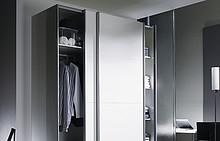 Top Line M ilość drzwi 2  Atrakcyjny design do niewielkich szaf o ciężarze drzwi do max. 35 kg - to maksymalne obciążenie do jakiego zaprojektowany...
