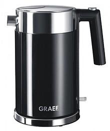 Średniej wielkości czajnik o unikalnej konstrukcji firmy Graef, z podwójną ścianką, bezpiecznikiem termicznym oraz wymiennym filtrem wapnia....