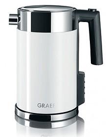 Nierdzewne czajniki elektryczne firmy Graef zapewniają stylowy wygląd i najnowsze rozwiązania techniczne. Nowy WK 701, ze stali nierdzewnej, z regulacją...