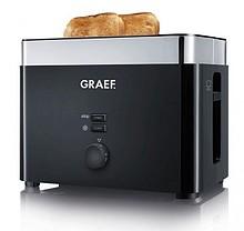 """Kompaktowy Toaster TO 62 firmy Graef, na 2 kromki """"w mgnieniu oka"""". Opieka nawet większe, amerykańskie kanapki. Zaawansowana konstrukcja,..."""