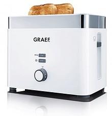"""Kompaktowy Toaster TO 61 firmy Graef, na 2 kromki """"w mgnieniu oka"""". Opieka nawet większe, amerykańskie kanapki. Zaawansowana konstrukcja,..."""