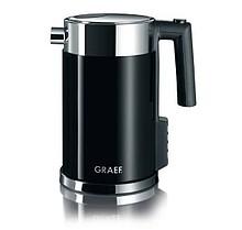 Nierdzewne czajniki elektryczne firmy Graef zapewniają stylowy wygląd i najnowsze rozwiązania techniczne. Nowy WK 702, ze stali nierdzewnej, z regulacją...