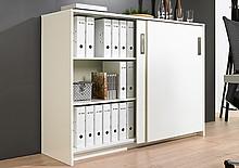 SysLine S jest doskonałym systemem do drzwi przesuwnych do szaf o średniej wielkości. Przy jego pomocy można konstruować zarówno szafki biurowe na...