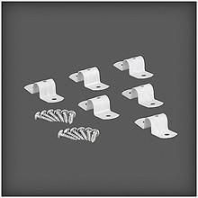 Łącznik 2 półek z płyty S2  wykonany ze stali w kolorze białym  Wykorzystywany przy łączeniu długich elementów. Dostępny w kompletach 6...