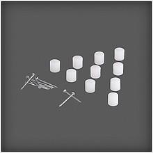 Połączenie półki z płyty S3  wykonany ze stali w kolorze białym  Wykorzystywany przy łączeniu długich elementów. Dostępny w...