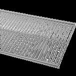 ELFA PÓŁKA AŻUROWA   w kolorze Platinum o wym. szer. 902 mm, gł. 305 mm  WYKONANA Z GRUBEJMETALOWEJSIATKI DOSTĘPNA...