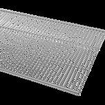 ELFA PÓŁKA AŻUROWA  w kolorze Platinum o wym. szer. 607 mm, gł. 405 mm  WYKONANA Z GRUBEJMETALOWEJSIATKI DOSTĘPNA...