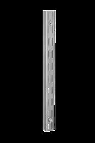 ELFA SZYNA PIONOWA V    w systemie Classic KOLOR BIAŁYM, DŁUGOŚĆ 636 mm szer. 16 mm, gł. 25 mm  Wykonana ze stali...