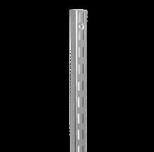 ELFA SZYNA PIONOWA V    w systemie Classic KOLOR PLATINUM, DŁUGOŚĆ 956 mm szer. 16 mm, gł. 25 mm  Wykonana ze stali...