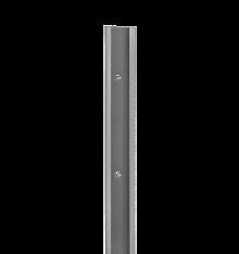 SZYNA POZIOMA BLW KOLORZE PLATINUM O DŁUGOŚCI 1050 mm,wys. 47 mm, gł. 10 mm    wykonana ze stali malowanej...