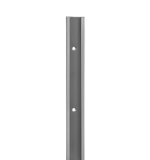 SZYNA POZIOMA BLW KOLORZE BIAŁYM O DŁUGOŚCI 1950 mm,wys. 47 mm, gł. 10 mm    wykonana ze stali malowanej...