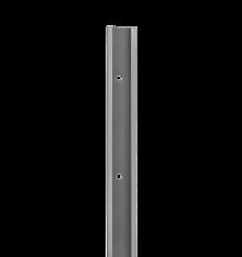 SZYNA POZIOMA BLW KOLORZE PLATINUM O DŁUGOŚCI 1950 mm,wys. 47 mm, gł. 10 mm    wykonana ze stali malowanej...