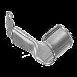 ELFA UCHWYT DRĄŻKA DO WSPORNIKA VS w kolorze białym, wykonany z tworzywa sztucznego, wymiary: 35/43/77 mm  Uchwyt ma zastosowanie do drążka o średnicy...